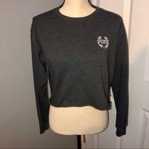 PINK Victoria's Secret Cropped Sweatshirt